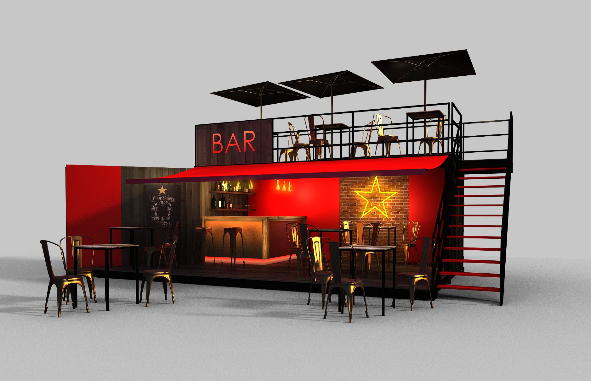 Pin By Anolan On Asahi Beer Container Bar Container Restaurant Shipping Container Cafe