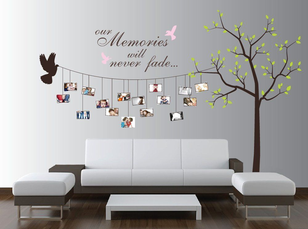 Ordinary Wall Stickers Ideas Part - 3: Beautiful Family Tree Wall Decal Ideas