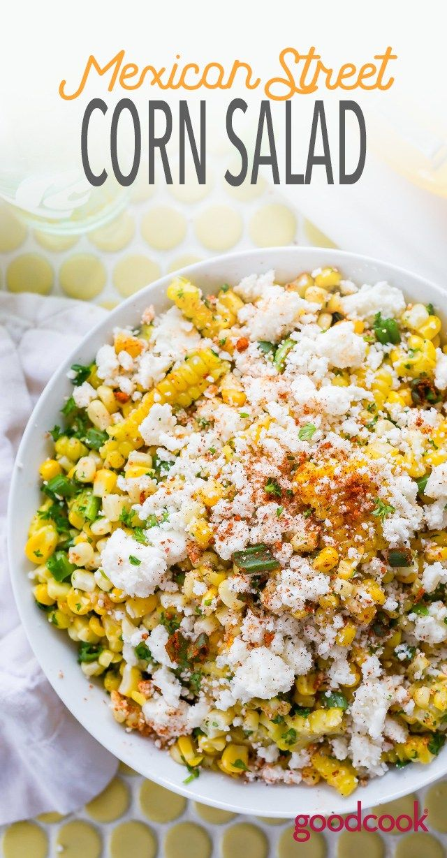 mexican street corn salad | recipe | summer sides | mexican food