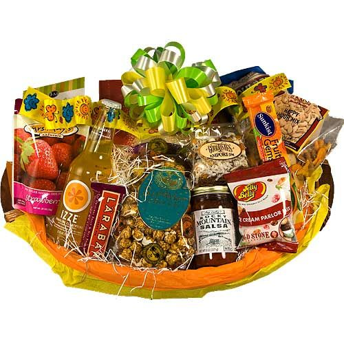Secretary's day snack gift basket, Administrative gifts in Denver ...