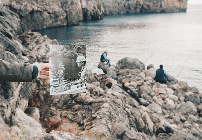 Records i tresors d'una vida vora el mar