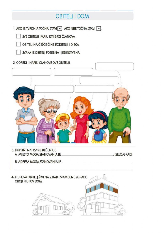 Priroda - Interactive worksheet