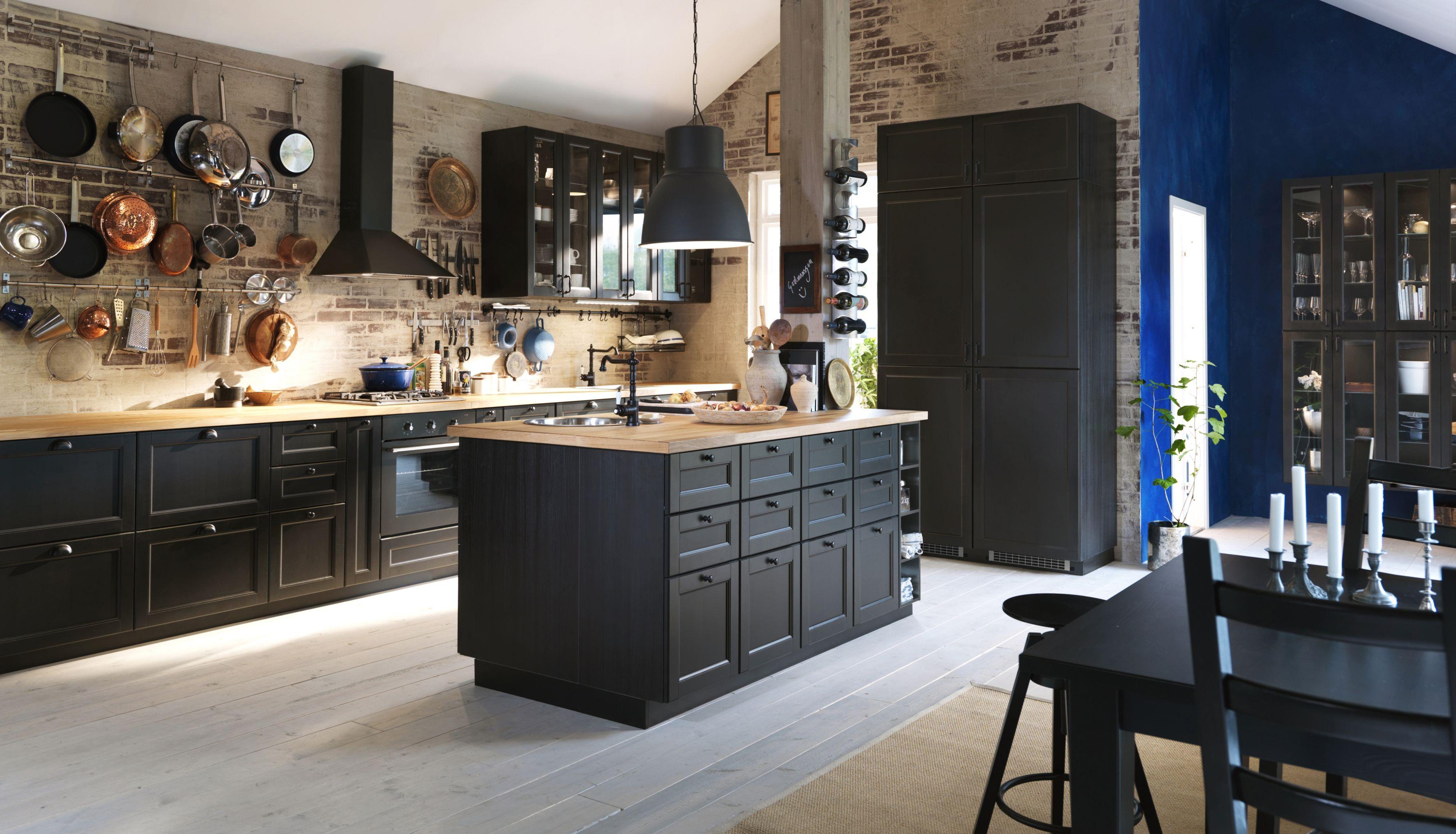 ilot central metod ikea. Black Bedroom Furniture Sets. Home Design Ideas