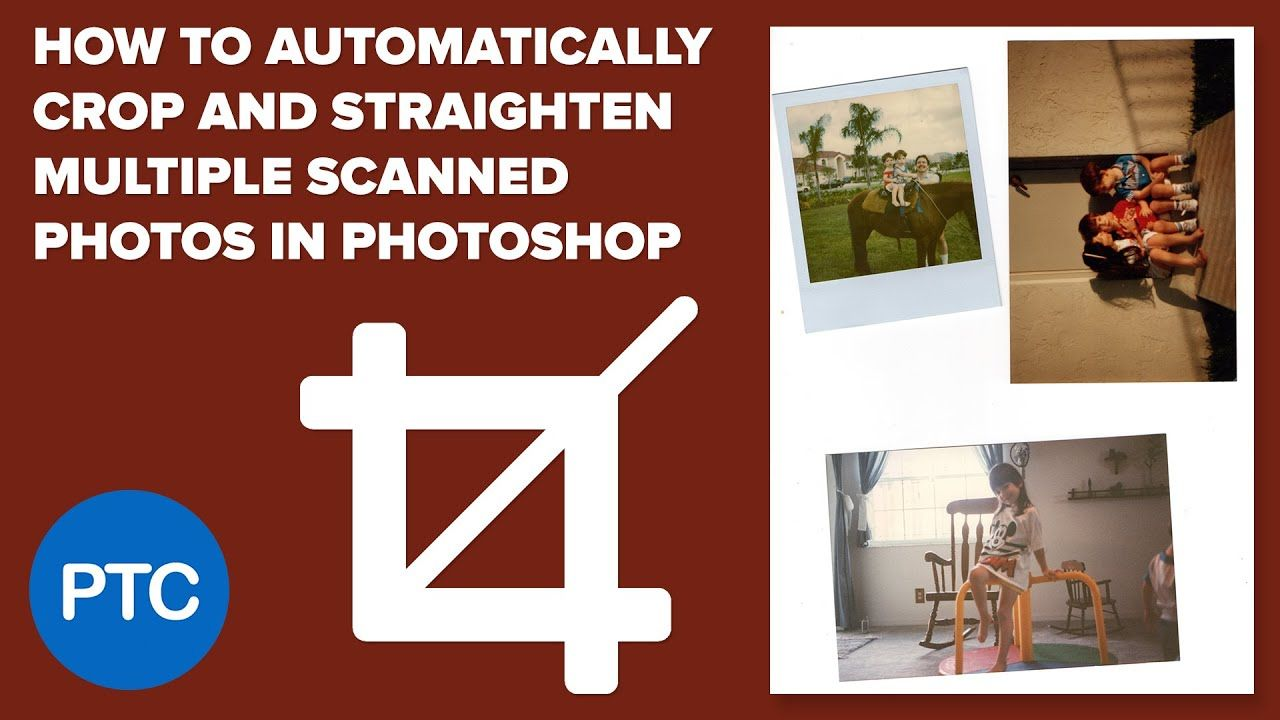 How to automatically crop and straighten multiple scanned