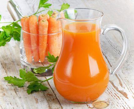 Sucul de morcov e bun pentru prostata