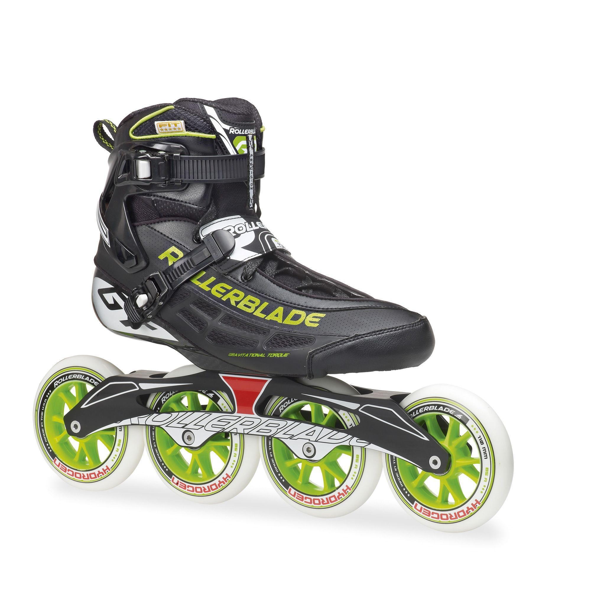 Pacer Voyager 6000 Inline Skates in Black Men/'s 5 or 6 Used Once w// Box
