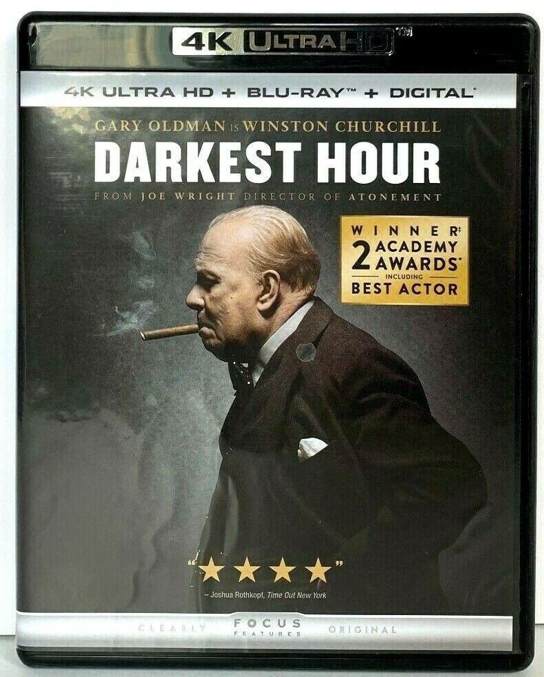 Darkest Hour 4k Uhd Ultra Hd Blu Ray Bluray Winston Churchill Ultra Hd Churchill Best Actor