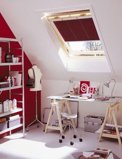 VELUX pine finish roof windows will brighten up any corner of your loft.