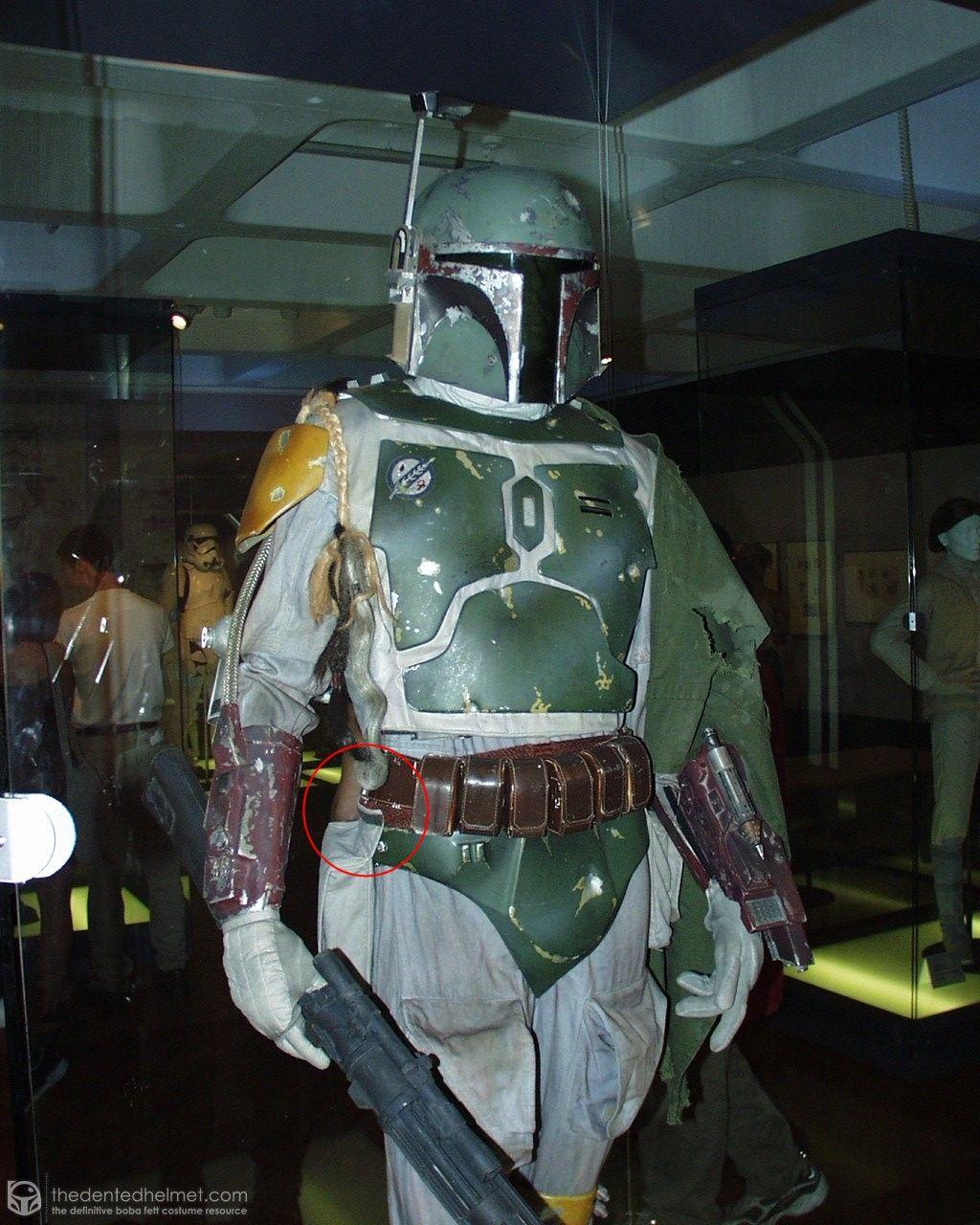 Boba Fett costume: ammo belt/hip pouch detail.   Boba Fett   Pinterest