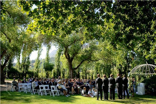 20 Garden & Outdoor Wedding Venues, Cape Town