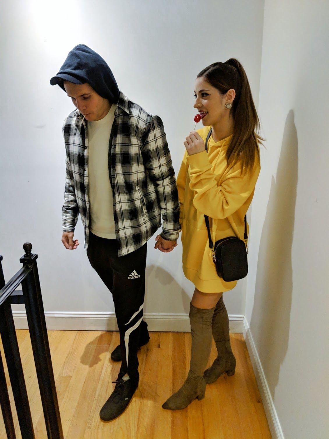 Ariana Grande and Pete Davidson Halloween Costume Couple