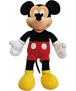Mickey Plush Soft Toy At Argos