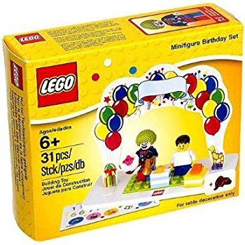 Amazon LEGO Birthday Decoration Cake Set 40153 Toys Games