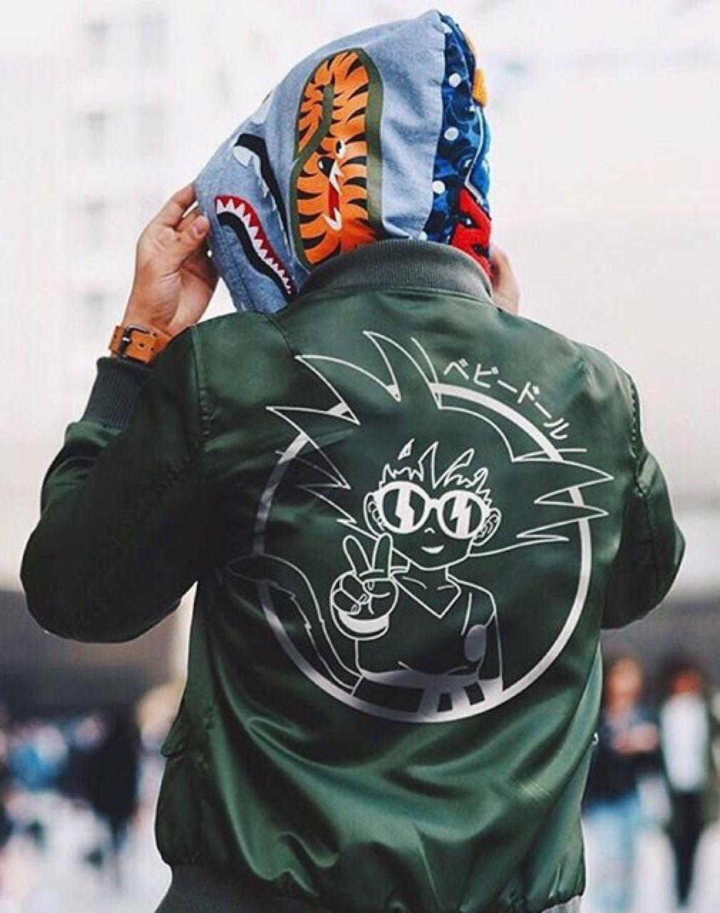Goku Bomber Jacket A Blog About.....Nothin' Streetwear