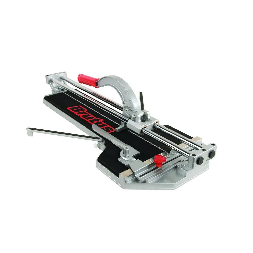 Brutus 24 In Pro Porcelain Tile Cutter 10600br The Home Depot Tile Cutter Porcelain Tile Black Tiles