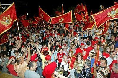 Celebración de la independencia en Montenegro 2006