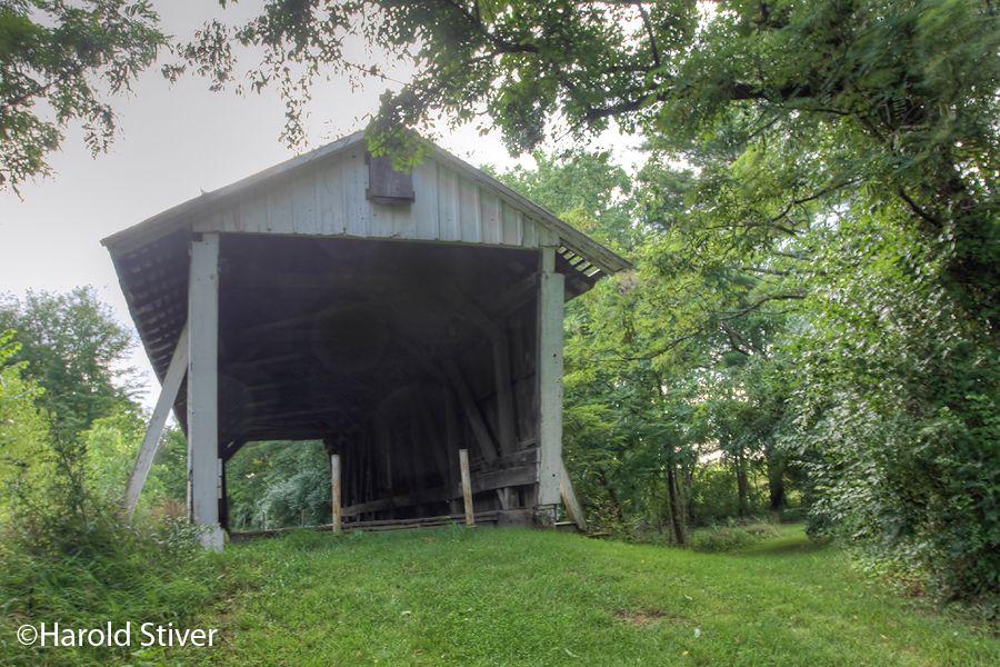 1871 Baker Covered Bridge - OH.