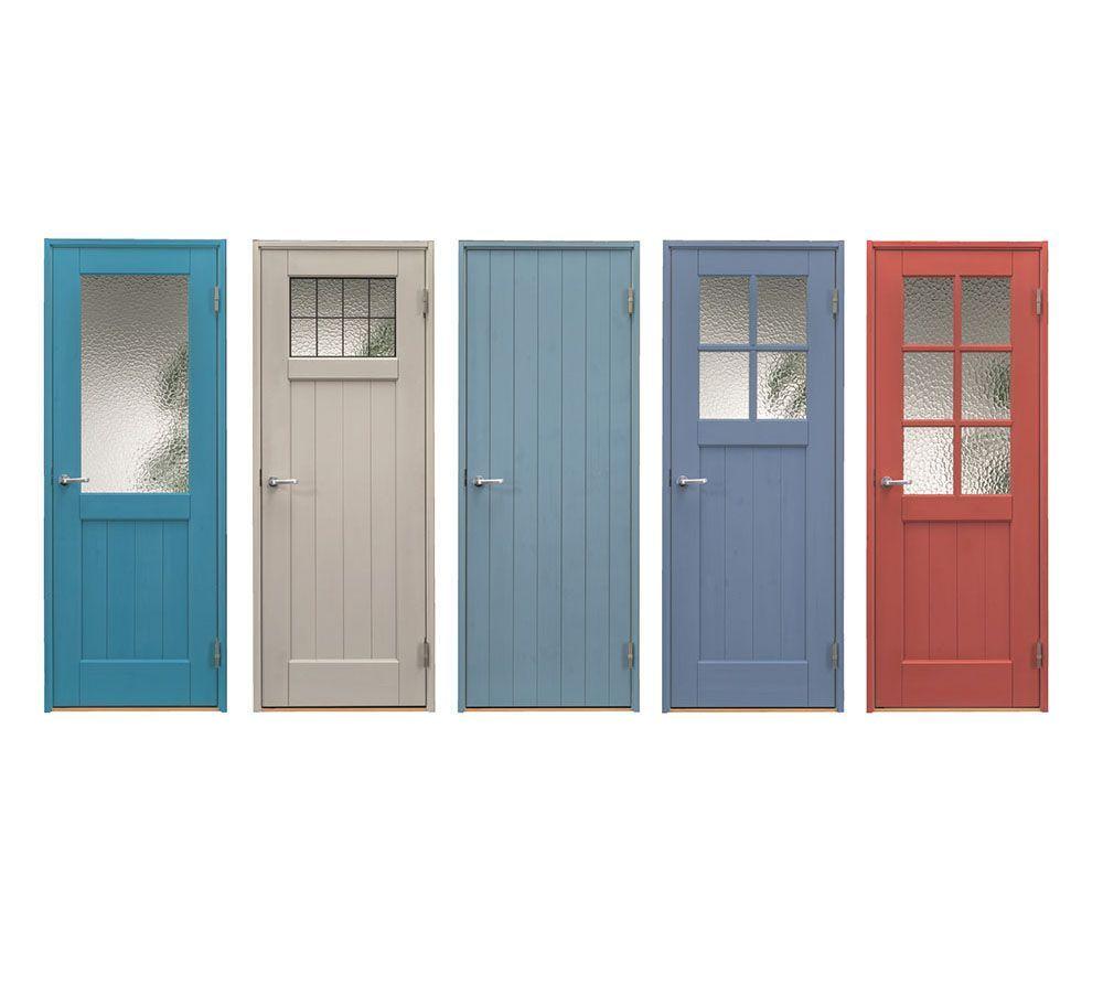 Judah Woodworking Colorful Indoor Wooden Door Jeans Style Wood …