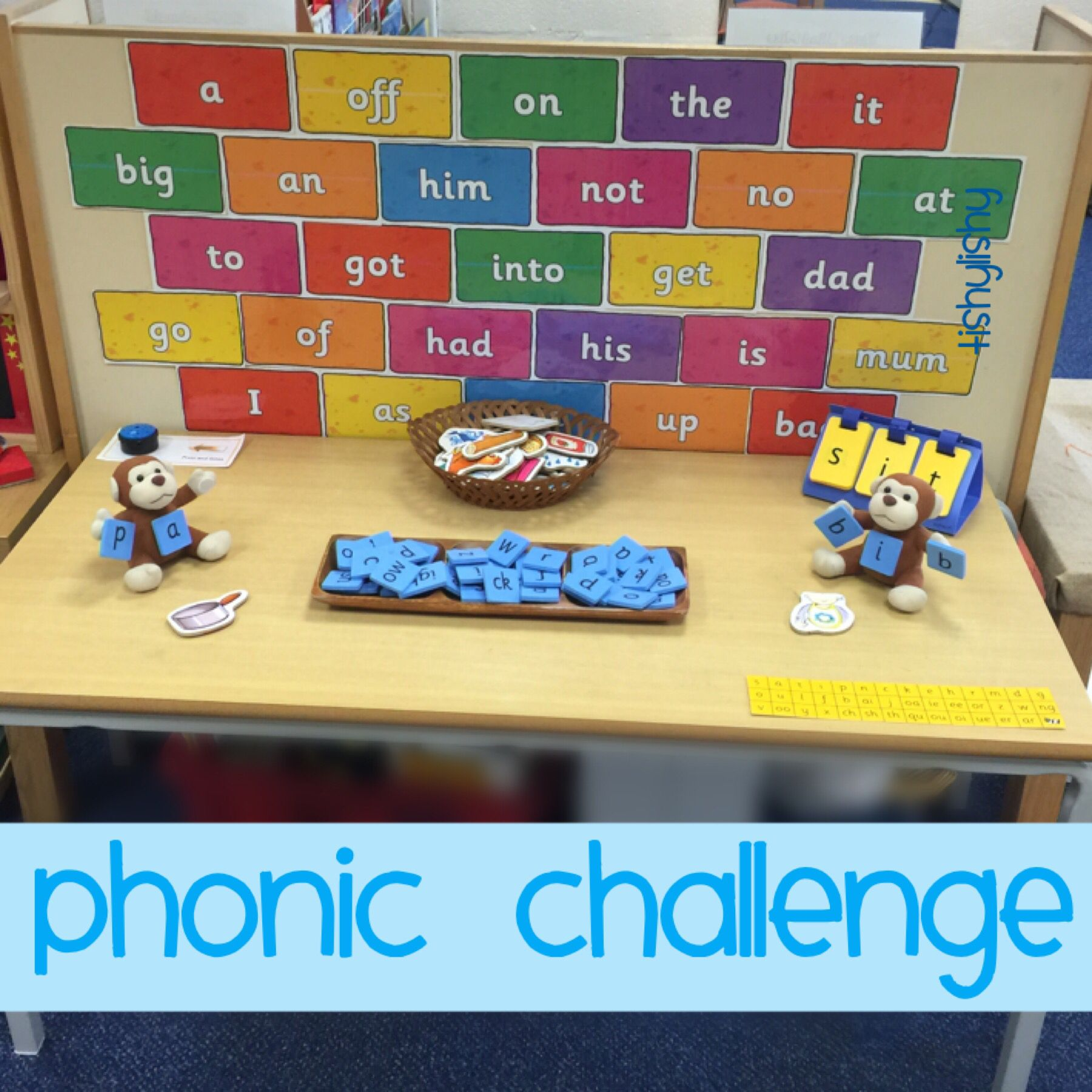Clever chimp phonic challenge - word wall from Twinkl | Work ...