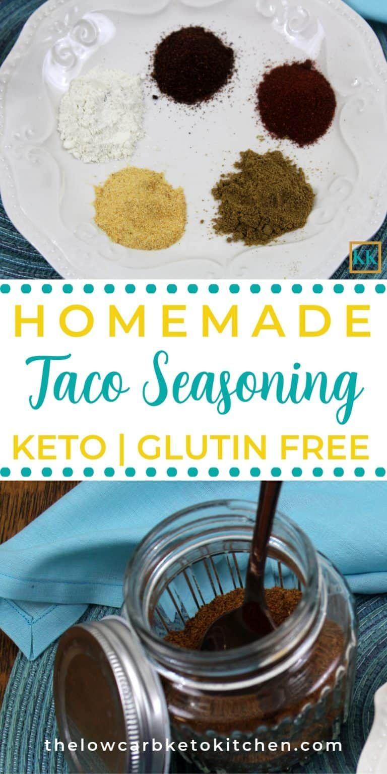 Keto friendly taco seasoning mix recipe keto