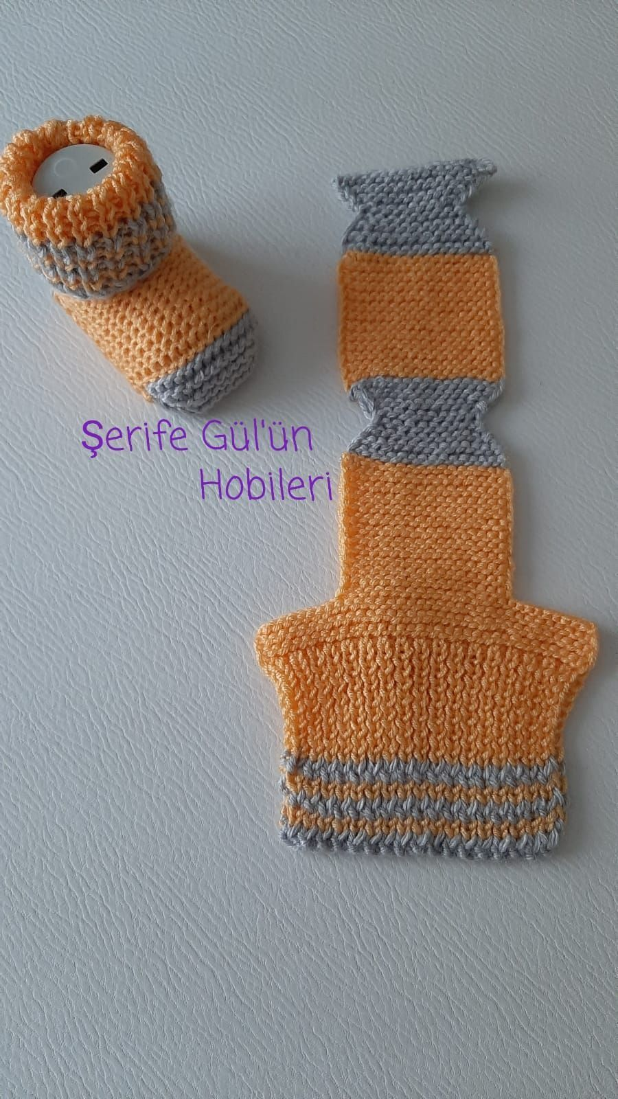 Photo of STEP-BY-STEP INSTRUCTIONS and PHOTOS to Knit a Bunny from a Square STEP 1: To st…
