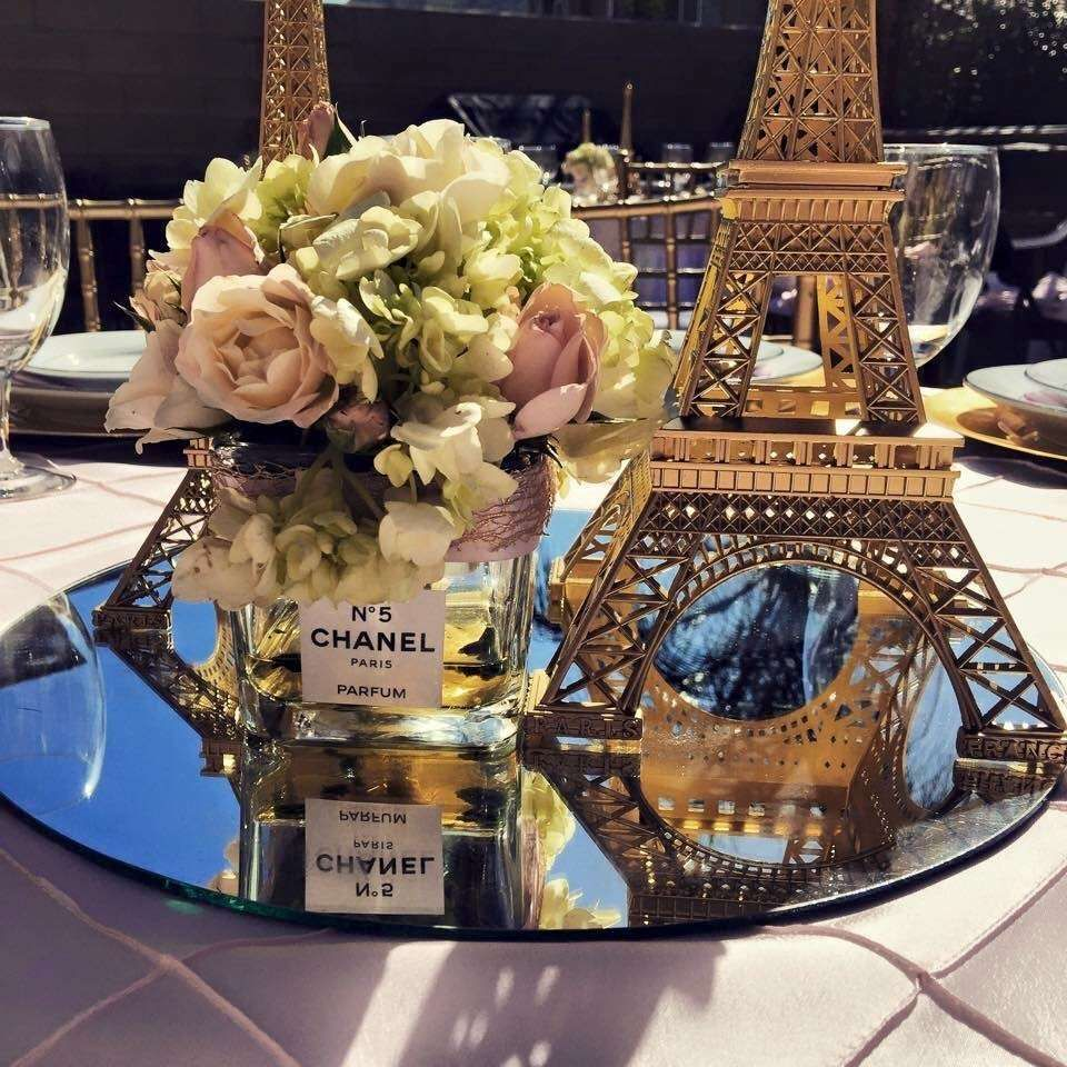 Paris Themed Wedding Reception Ideas: Amanda's Bridal Shower