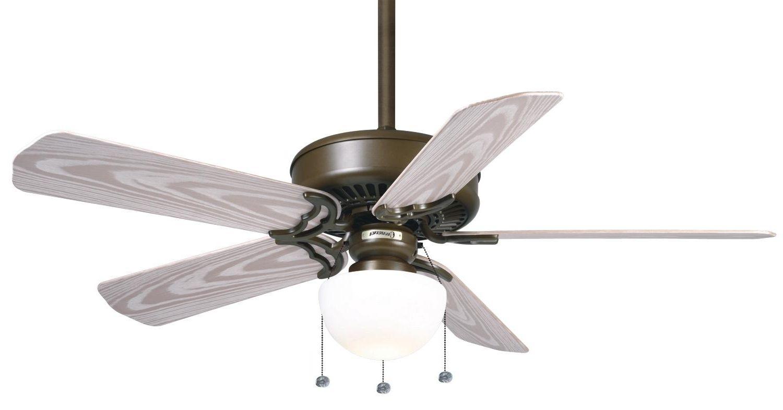 Universal Ceiling Fan Light Kit Polished Brass