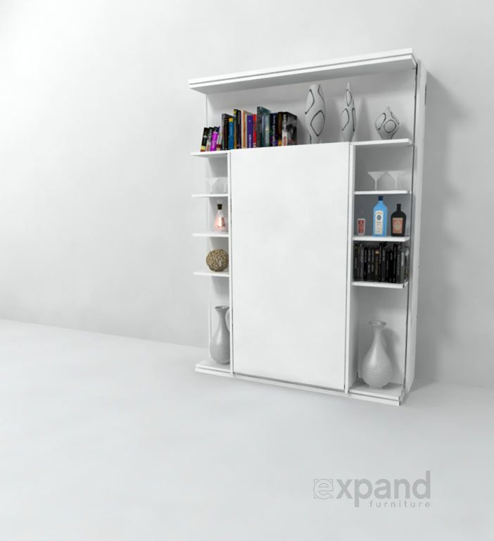 Revolving Bookcase Italian Wall Bed Expand Furniture Revolving Bookcase Fold Down Desk