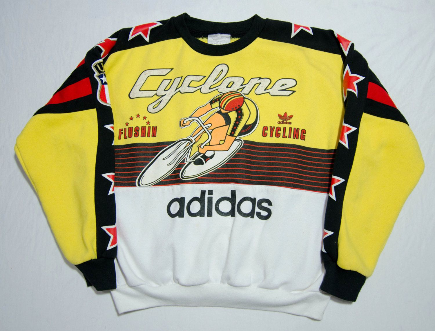 ee1f03bdb356 Vintage Adidas Cyclone Sweater by RagsOnRagsVintage on Etsy