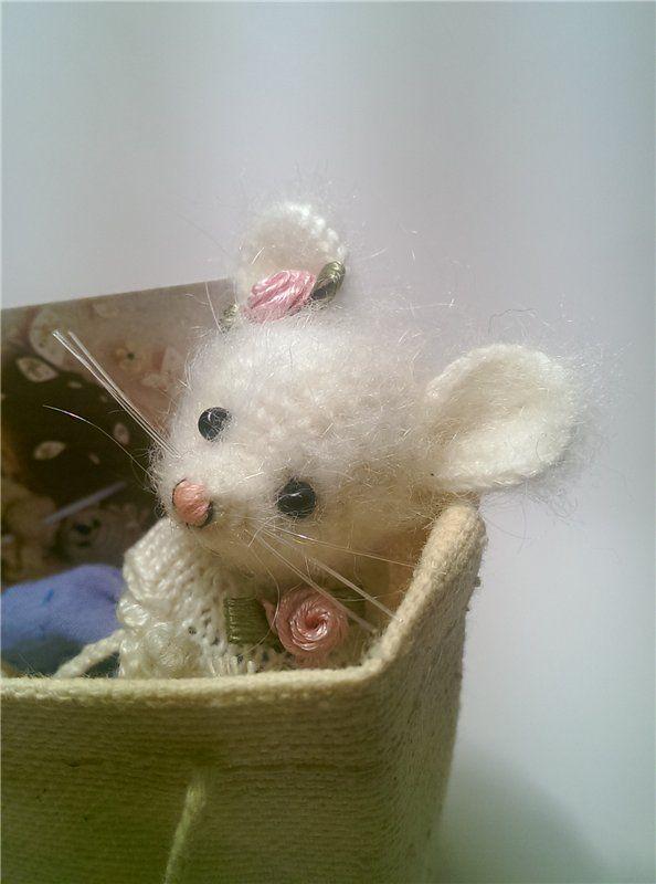 Крошечная и живая чудо-Мышка. 7 сантиметров! / Авторские ...