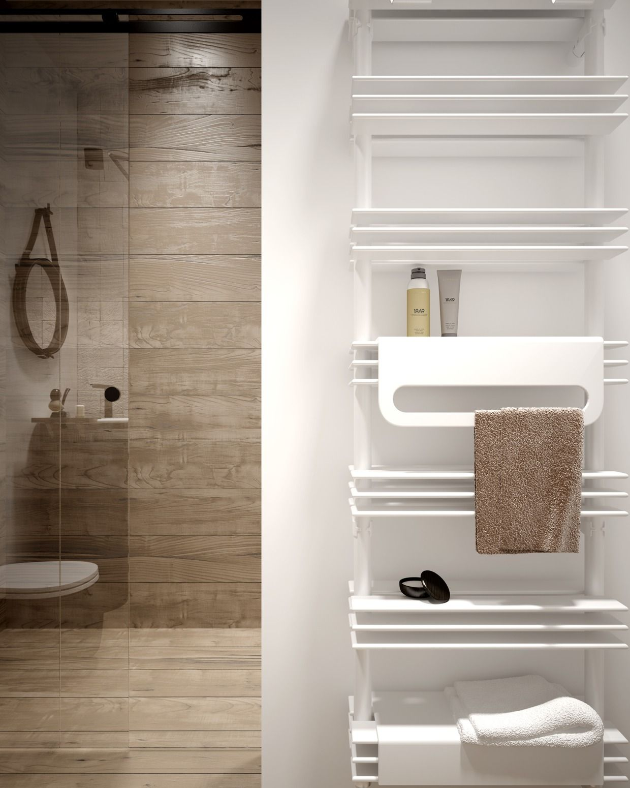 Cognition of an ArchiKid — homedesigning: White Towel Rack ...