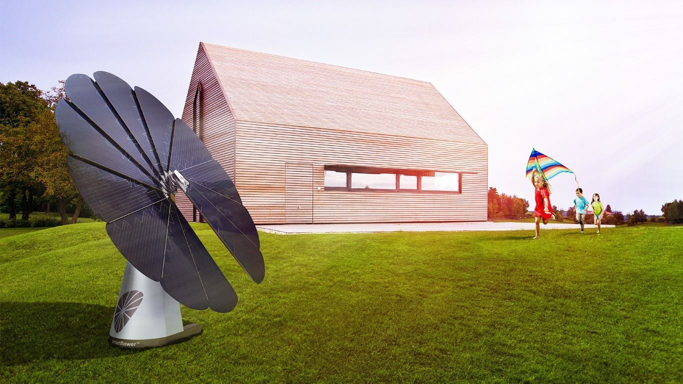 smart flower solar panel | Healthy Communities | Buy solar
