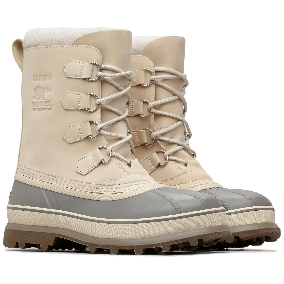 90285f95 The Caribou boot from Sorel is often imitated but never equalled. The  original Sorel boot features a nubuck leather upper with waterproof  construction.