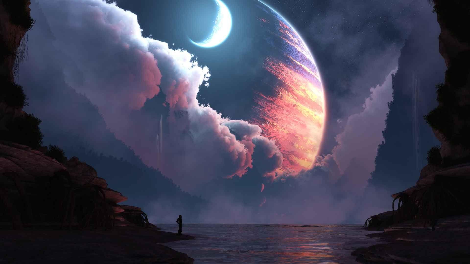 Dreamer Static Theme – Digital Blasphemy. [1920×1080] 4K