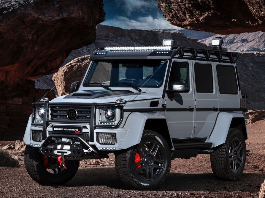 Extreme Gets Extremer As Brabus Tunes The Mercedes G500 4x4 Squared