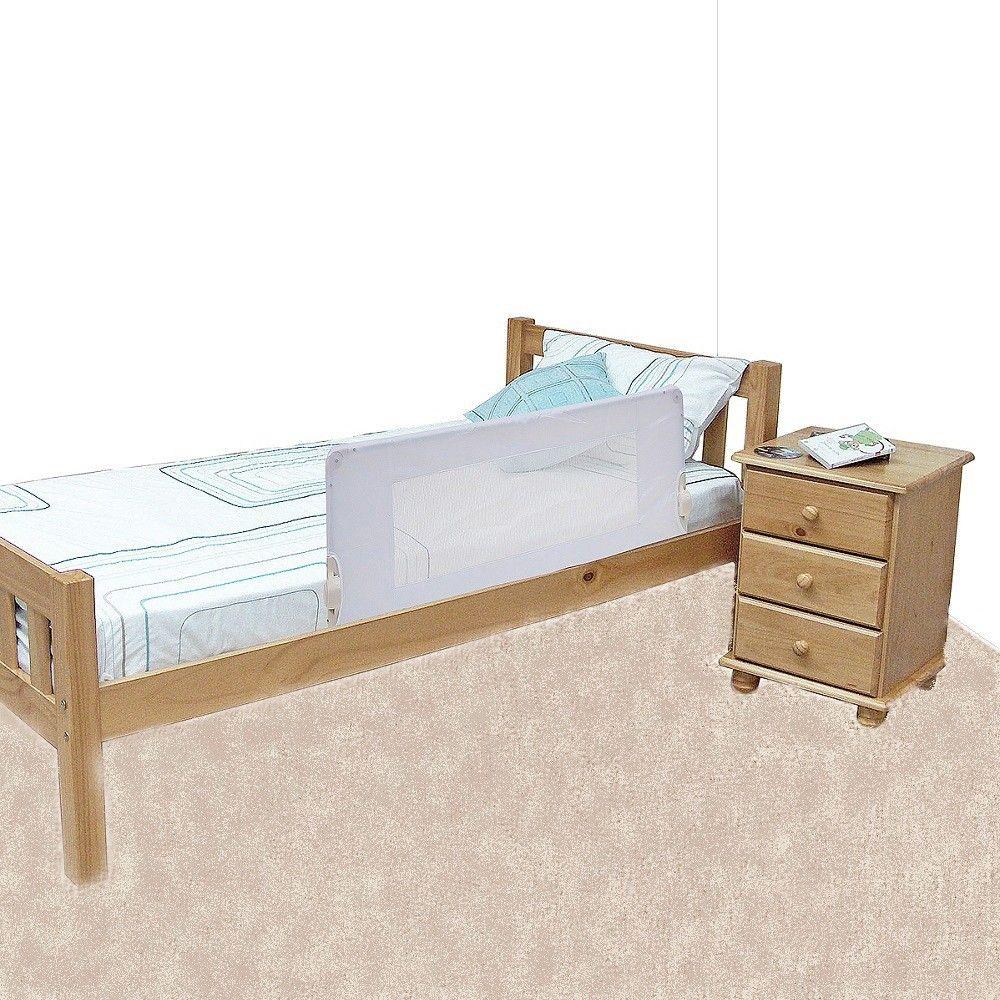 Safetots Bed Rail White Bed, Side bed, Bed rails
