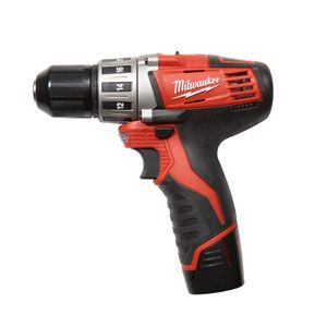 I jumped into reviews for cordless drills and I think that this Milwaukee M12 2410-22 will be my best choice for at home work.  It has nearly the power to compete with the bigger drills, while small and compact enough to be useful where a larger drill isn't.
