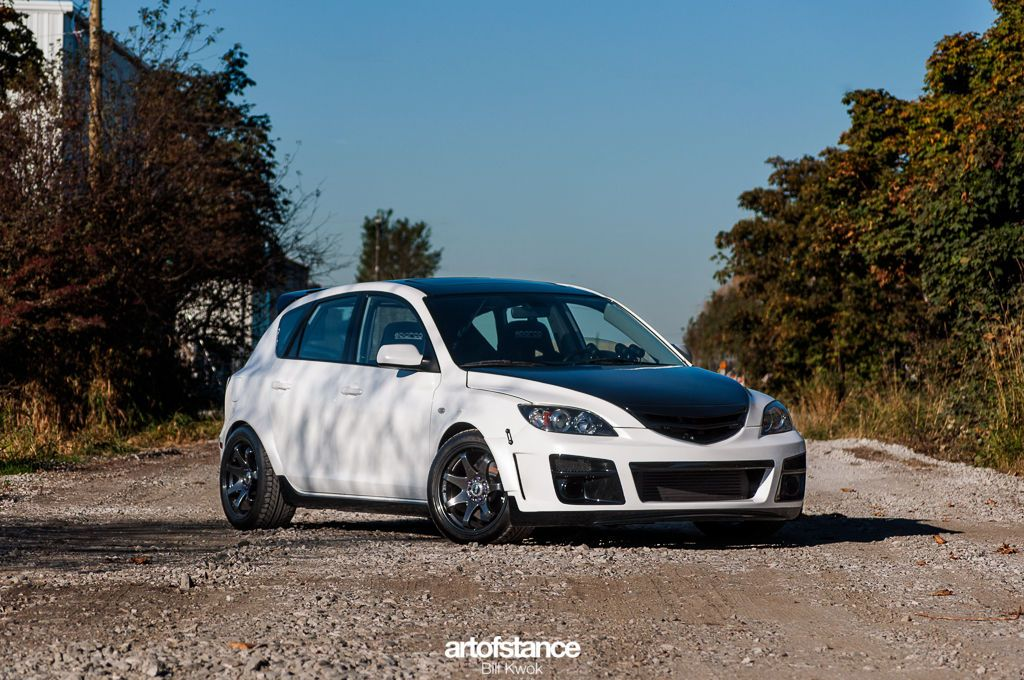 Monster 3  Turbocharged Mazda 3  Art of Stance  Westcoast Cars