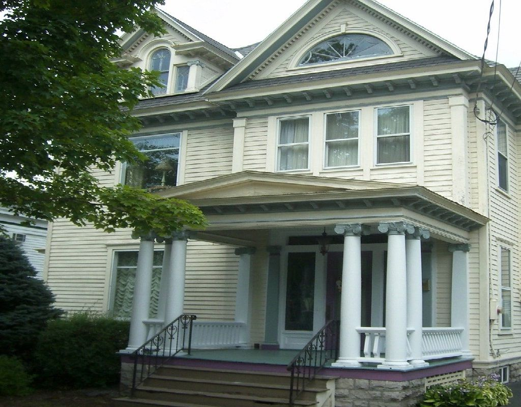 Exterior Paint Colors This Old House Bring Back To Life 1910 Clic Revival Before