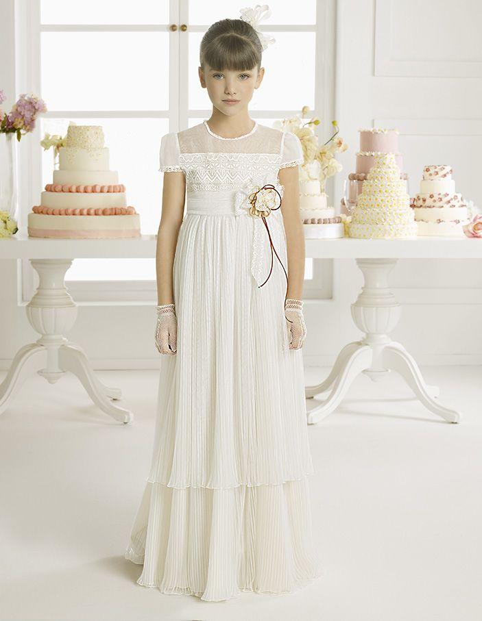vestidos de novia y vestidos de fiesta   first comunion   pinterest
