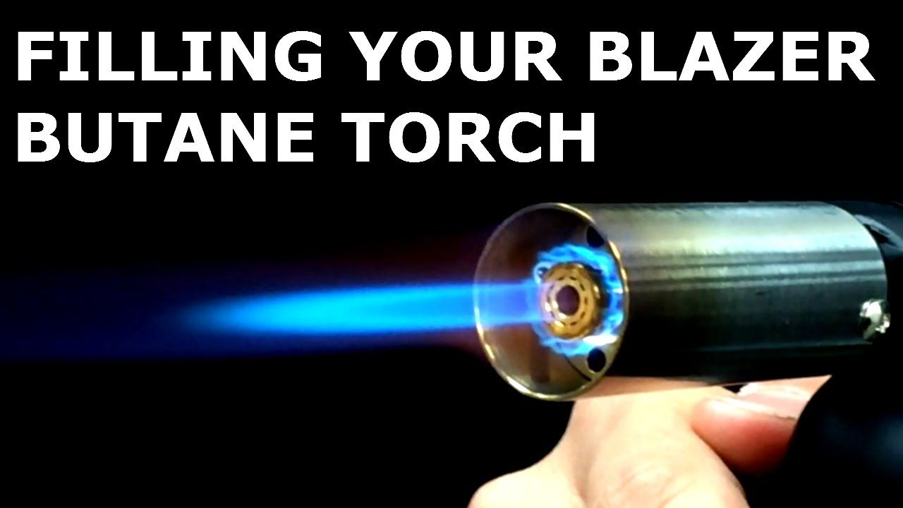 How To Fill A Blazer Butane Torch or Lighter