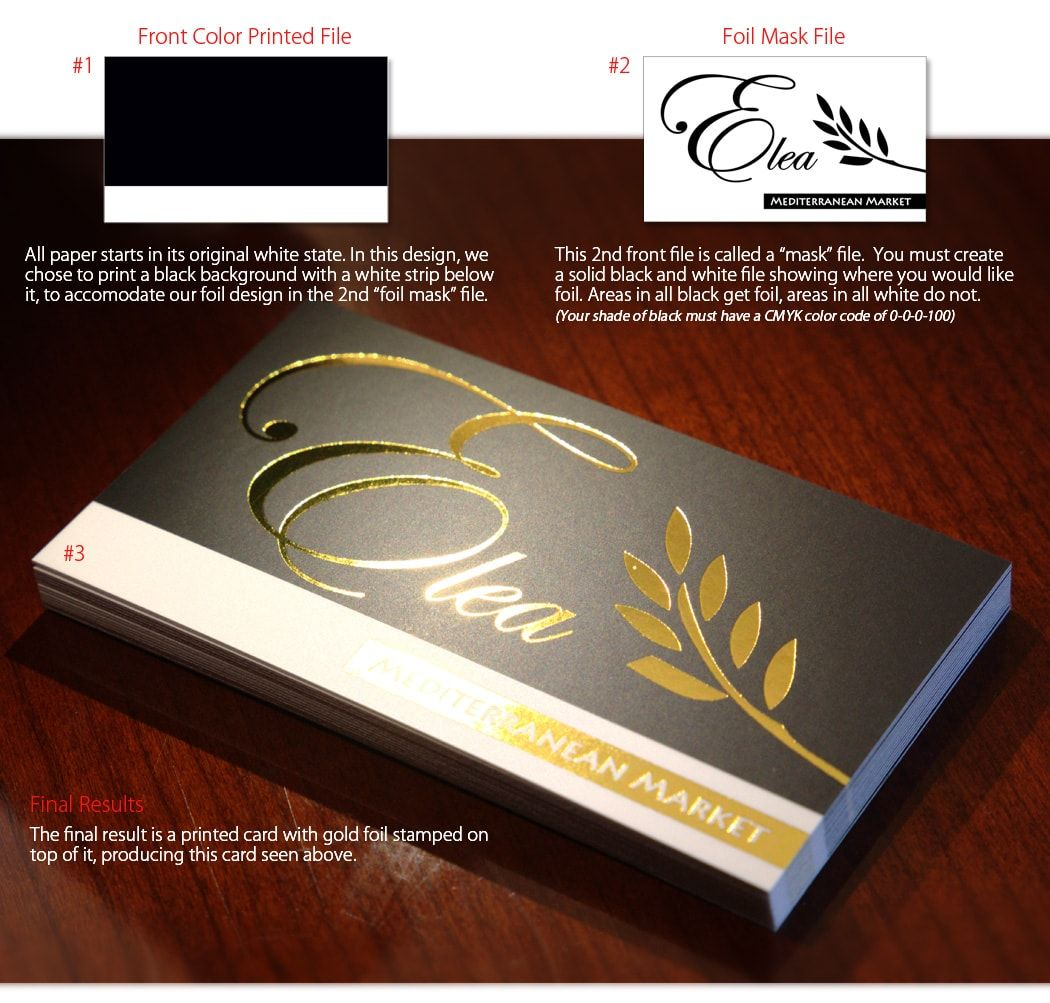 how to setup gold foil mask files for business cards | DAR ...