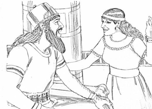 Image result for Esther ch.7 coloring pages | Esther | Pinterest