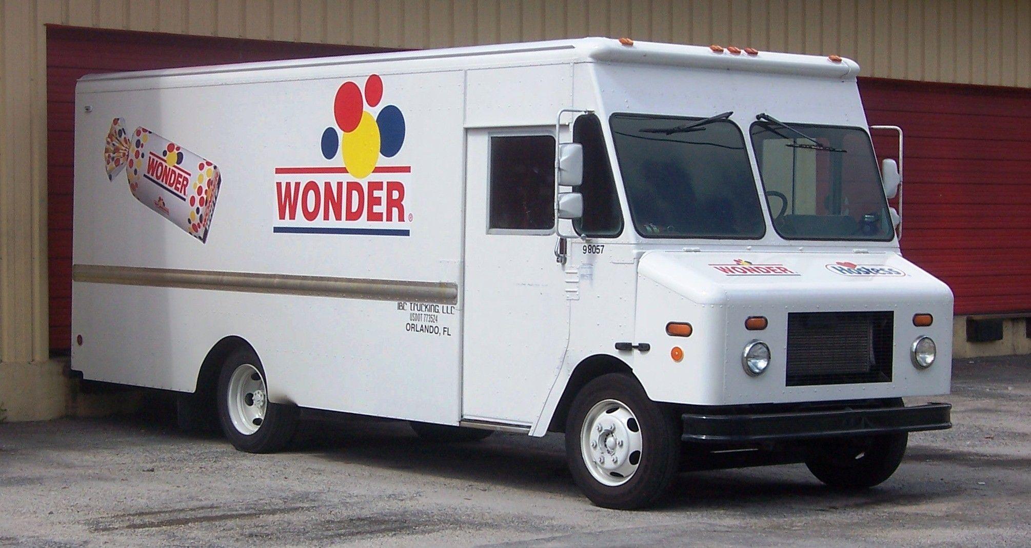 wonder bread truck in 2020 trucks step van van pinterest