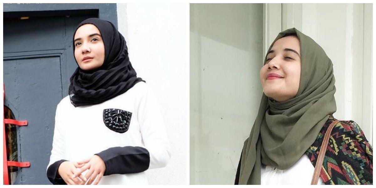 Tutorial Hijab Pashmina Untuk Wajah Bulat Dan Pipi Tembem Tutorial Hijab Pashmina Bentuk Wajah Wajah