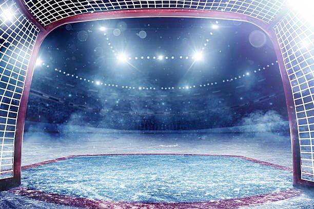 Dramatic Ice Hockey Arena Hockey Arena Hockey Ice Hockey