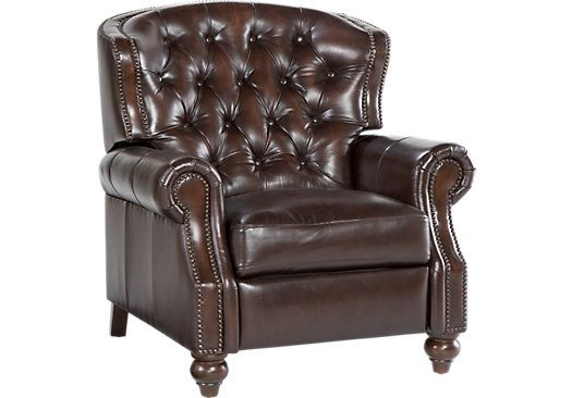 Shop For A Kentfield Leather Recliner At Rooms To Go Find
