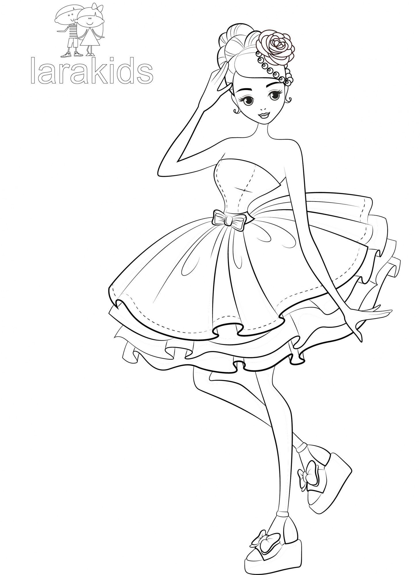 Ausmalbilder Topmodel Meerjungfrau : Drucken F Rbung Sonia Rose Im Kurzen Kleid Ausmalbilder Topmodel
