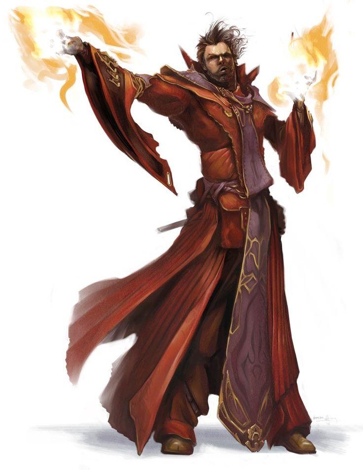 m Half Elf Wizard