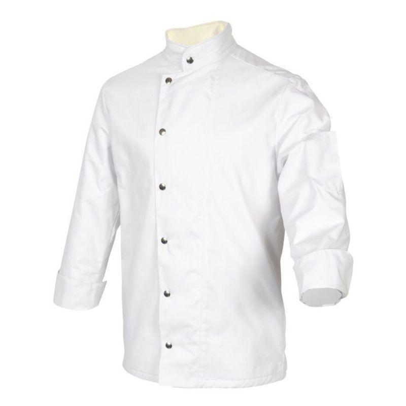 Veste De Cuisine Doublee Anti Froid Robur Moscou Blanc 3xl